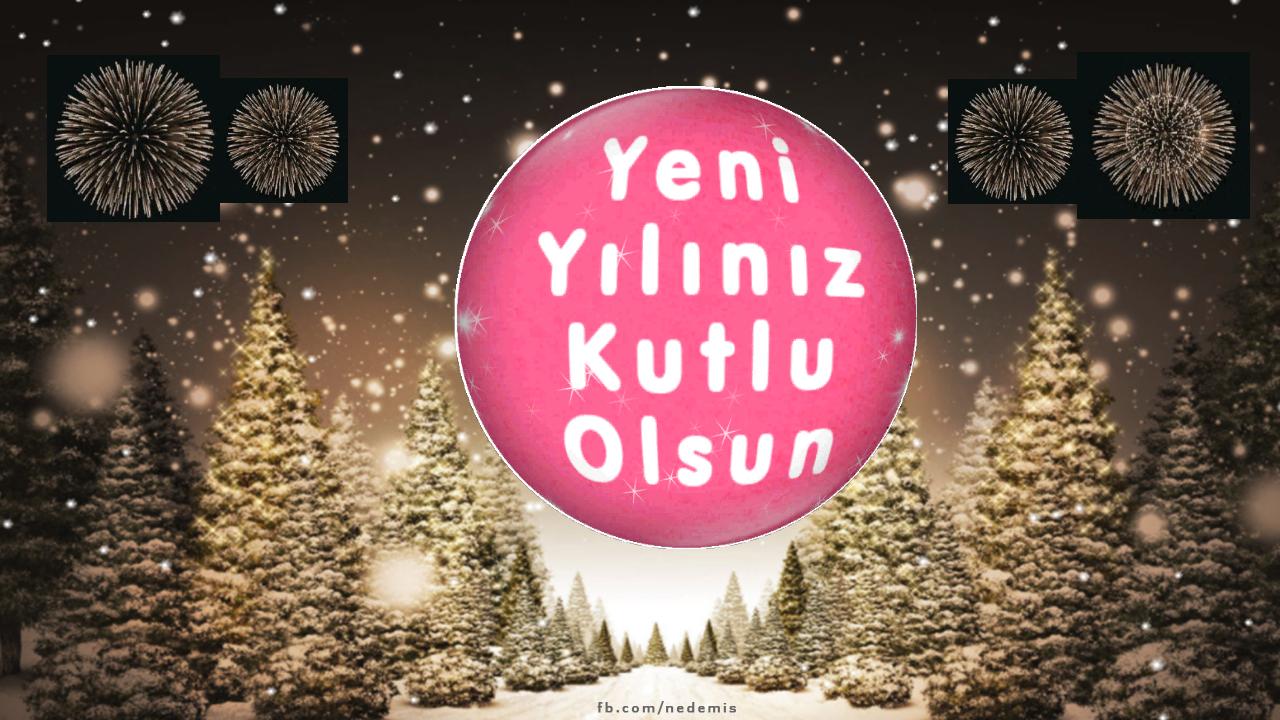 Yeni yılınız kutlu olşun.