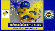 Fenerbahçe Kanaryalı Doğum Günü Kutlamasi