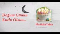 Animasyon şeklinde Çöp adamlı doğum günü kutlama