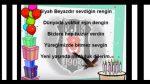 Beşiktaşlı'lara özel doğum günü kutlama videosu
