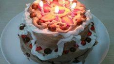 Katlı Doğum Günü Pastası Yapılışı