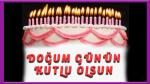Pastalı Güzel sözlü doğum günü kutlaması
