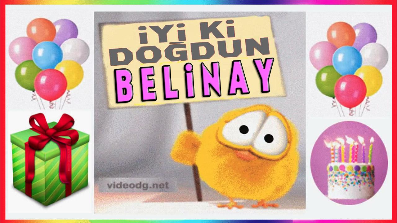 iyiki doğdun Belinay