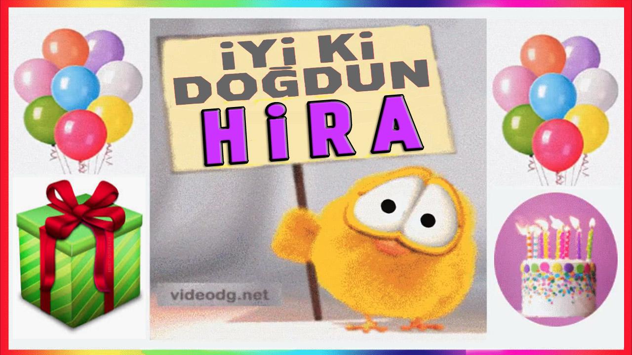 iyiki doğdun Hira