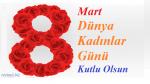 8 Mart Dünya kadınlar günü kutlaması