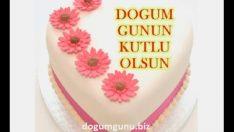 Kalpli, Çiçekli, Özel Sözlü Doğum Günü Kutlaması
