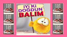 iyi ki doğdun BALIM