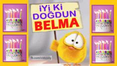 İyiki doğdun BELMA