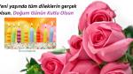 Güllerle Güzel dilekli Doğum günü Kutlaması