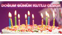 Puzzle şeklinde doğum günü kutlaması