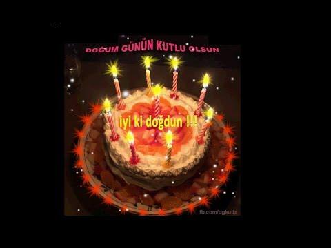 Doğum günün kutlu olsun, iyi ki doğdun