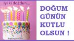 Resimli Doğum Günü Kutlama Mesajları