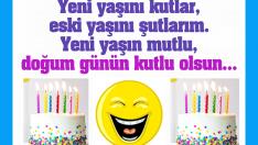 Espirili Komik 10 Doğum Günü Kutlama Mesajı