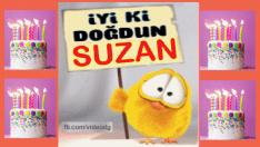 iyi ki doğdun SUZAN