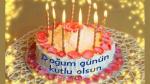 5 Değişik Pastayla Doğum Günü Kutlaması