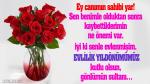 Evlilik yıldönümümüz kutlu olsun gönlümün sultanı…