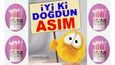 Doğum günün kutlu olsun ASIM