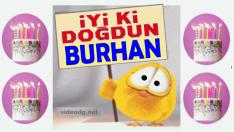 iyi ki doğdun BURHAN