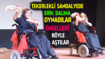 Tekerlekli Sandalyede Erik Dalı Oynamak