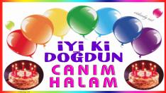 iyi ki doğdun CANIM HALAM