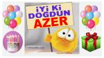 iyi ki doğdun AZER