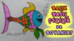 Balık Nasıl Çizilir ve Boyanır? –  How to draw fish ?