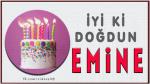 iyi ki doğdun EMİNE