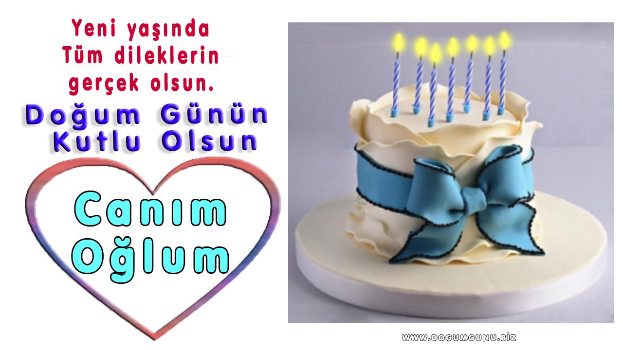Canim Ogluma En Guzel Dogum Gunu Kutlama Mesajlari Videodg Net