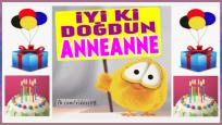 iyi ki doğdun ANNEANNE