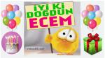 iyi ki doğdun ECEM