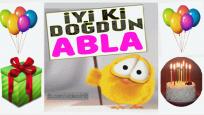 iyi ki doğdun ABLA !