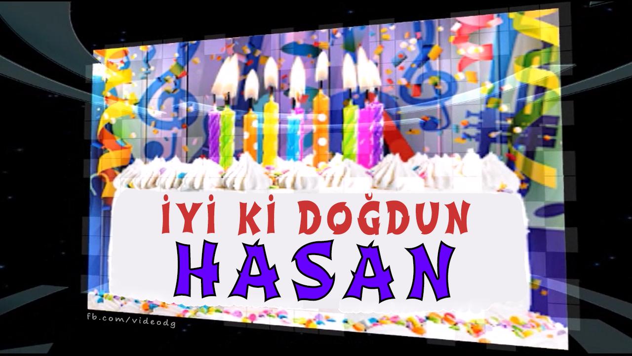 iyiki doğdun Hasan