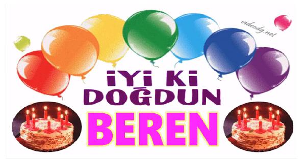 iyi ki doğdun Beren