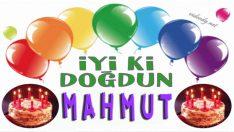 iyi ki doğdun Mahmut