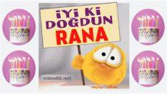 iyi ki doğdun Rana