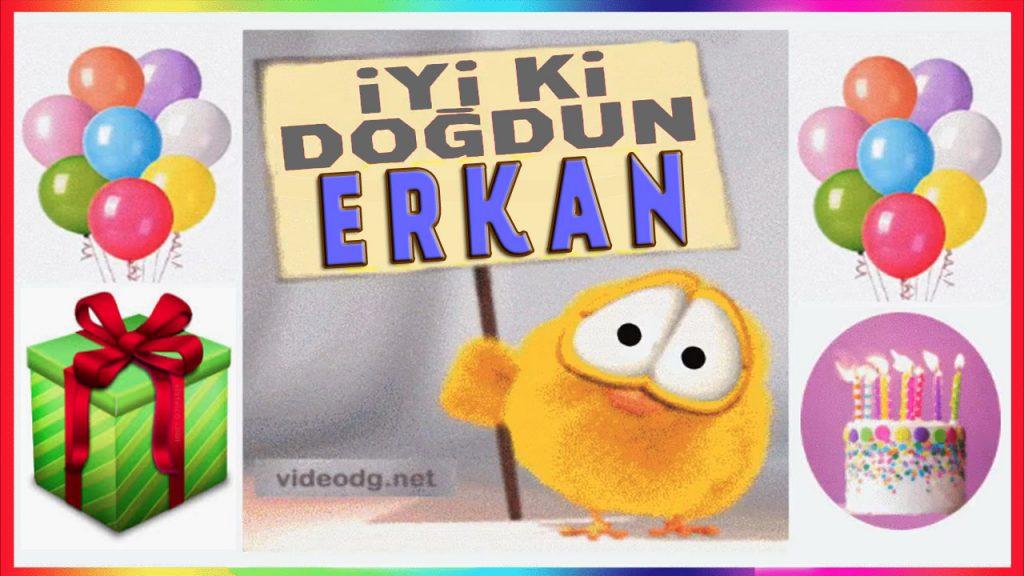 iyi ki doğdun Erkan