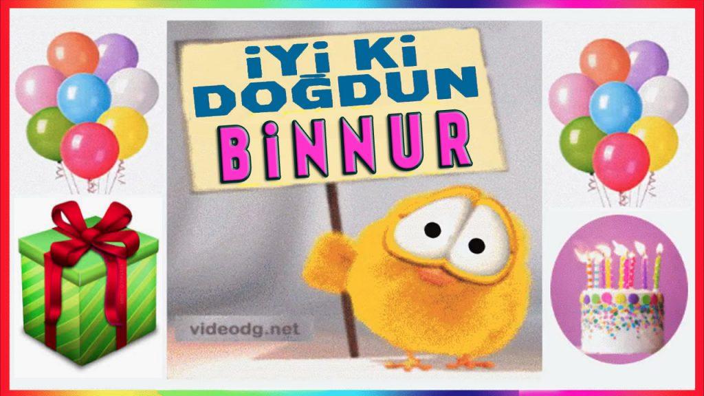 iyi ki doğdun Binnur