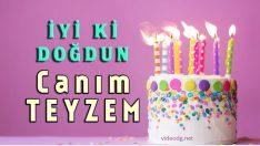 Teyzeye doğum günü kutlama mesajı