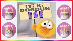 İyi ki doğdun EGE