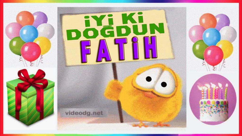 iyi ki doğdun Fatih