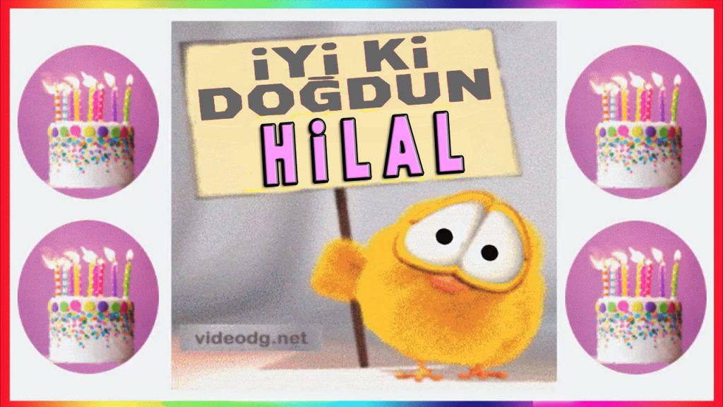 iyiki doğdun Hilal