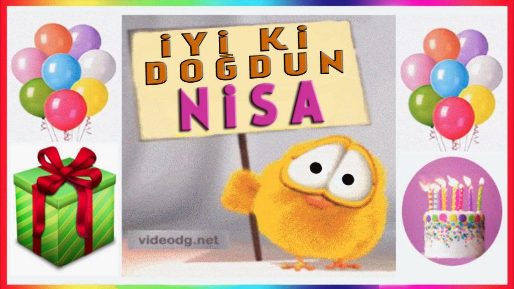 iyi ki doğdun Nisa