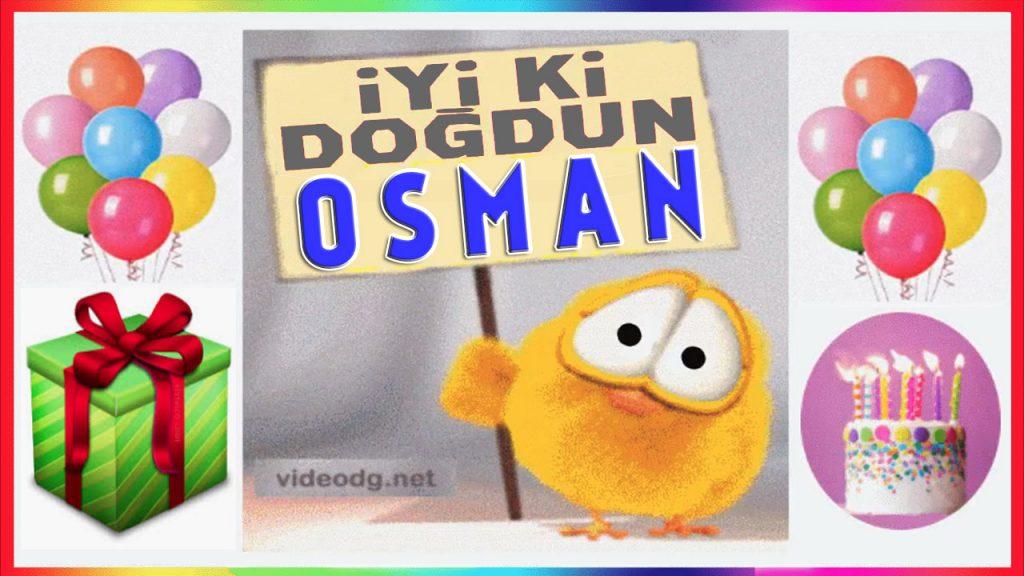 iyi ki doğdun Osman