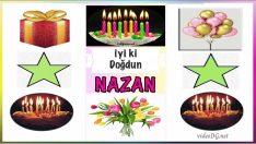 iyi ki doğdun NAZAN